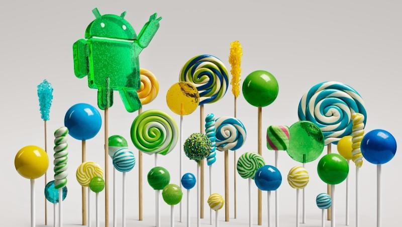 Android 5 , c'est pour qui? Lollip10