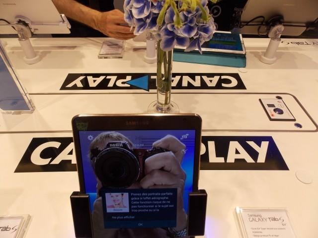 Les nouvelles Tablettes Galaxy Tab S de Samsung Selfie10
