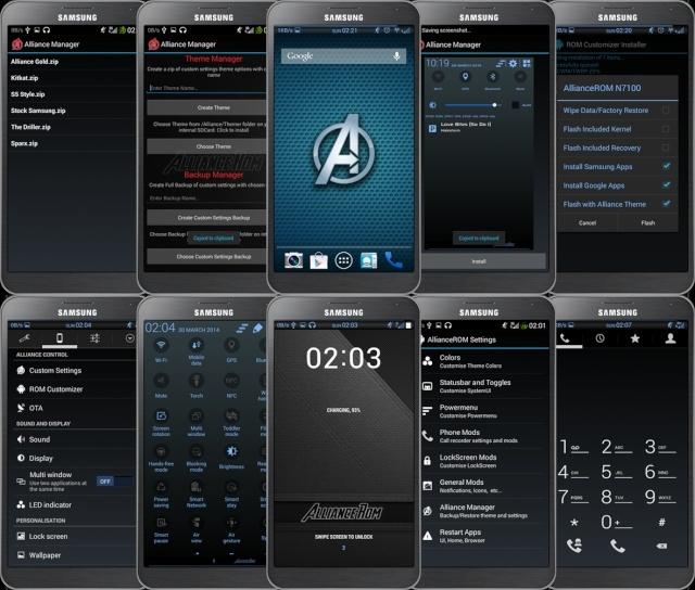 [ROM 4.4.2][SM-N9005] Alliance Rom v3 [XXUEND3] Samsung Galaxy Note3 Ss10