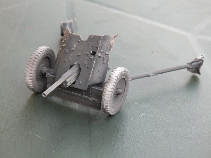 Tamiya 1:35 3.7cm Anti Tank Gun (Pak 35/36)  FINI Dscf3610