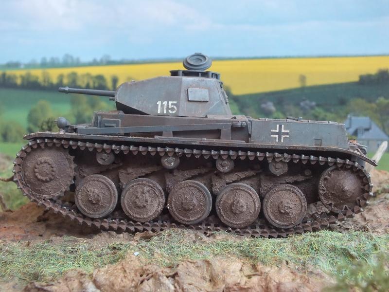 Panzer II Ausf. F unité inconnue,  en France , quelque part en Bretagne , printemps 1943. Dscf4717