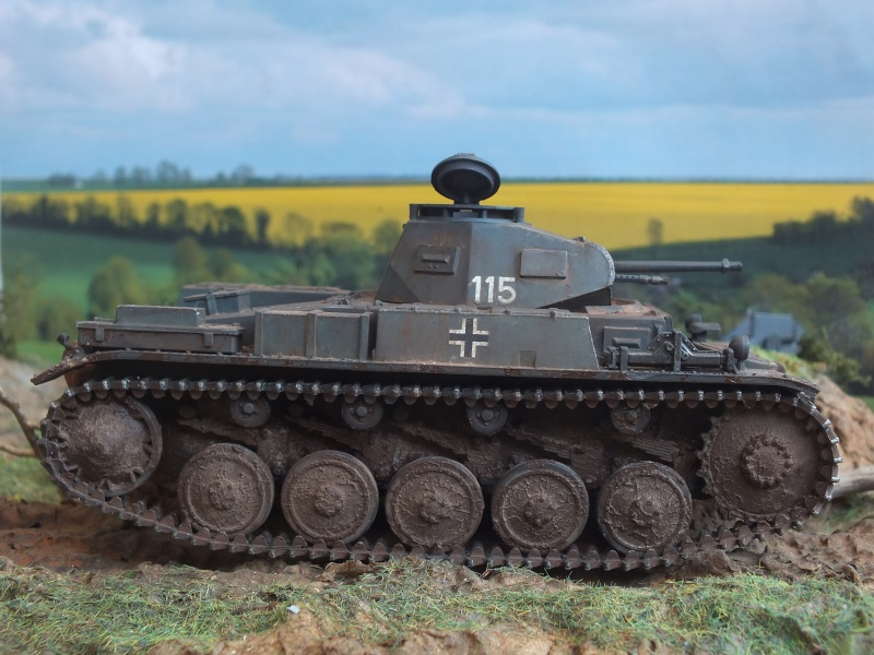 Panzer II Ausf. F unité inconnue,  en France , quelque part en Bretagne , printemps 1943. Dscf4718