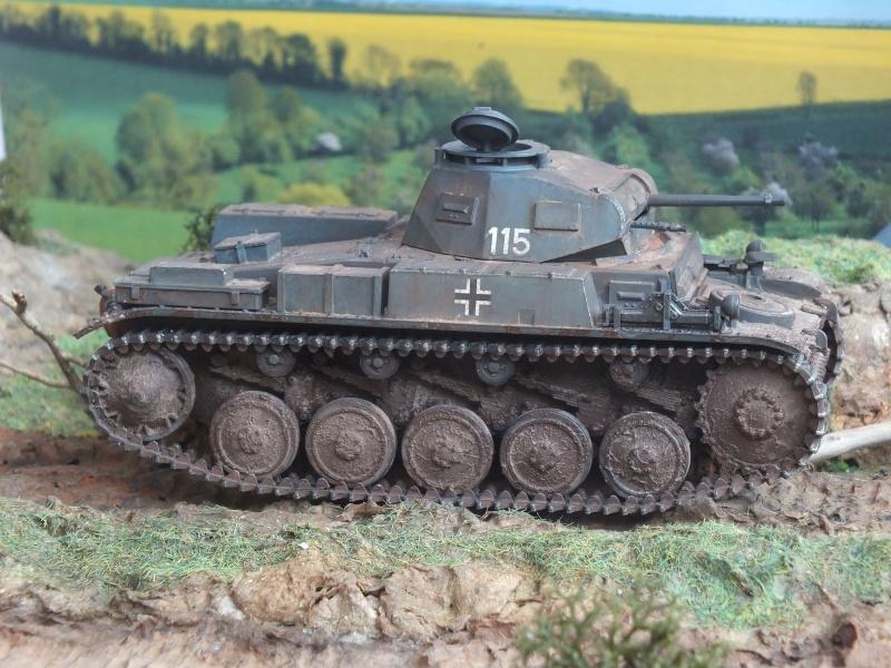 Panzer II Ausf. F unité inconnue,  en France , quelque part en Bretagne , printemps 1943. Dscf4719