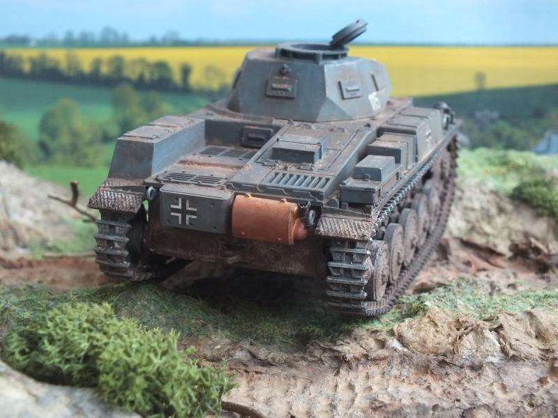 Panzer II Ausf. F unité inconnue,  en France , quelque part en Bretagne , printemps 1943. Dscf4720