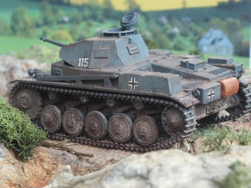 Panzer II Ausf. F unité inconnue,  en France , quelque part en Bretagne , printemps 1943. Dscf4722