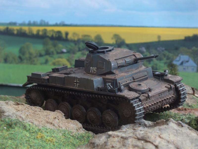 Panzer II Ausf. F unité inconnue,  en France , quelque part en Bretagne , printemps 1943. Dscf4723