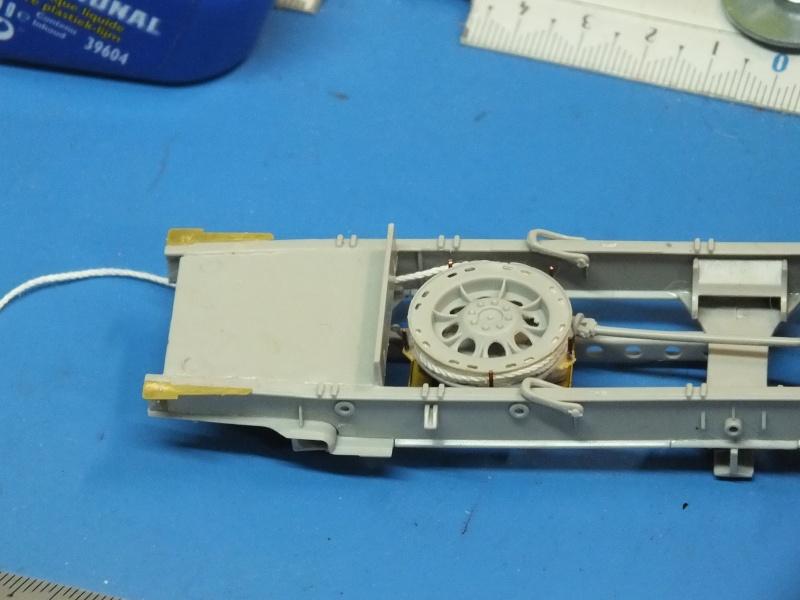 Trumpeter 1/35 Sd.Kfz.7 Mittlere Zugkraftwagen 8t Late  Dscf5019