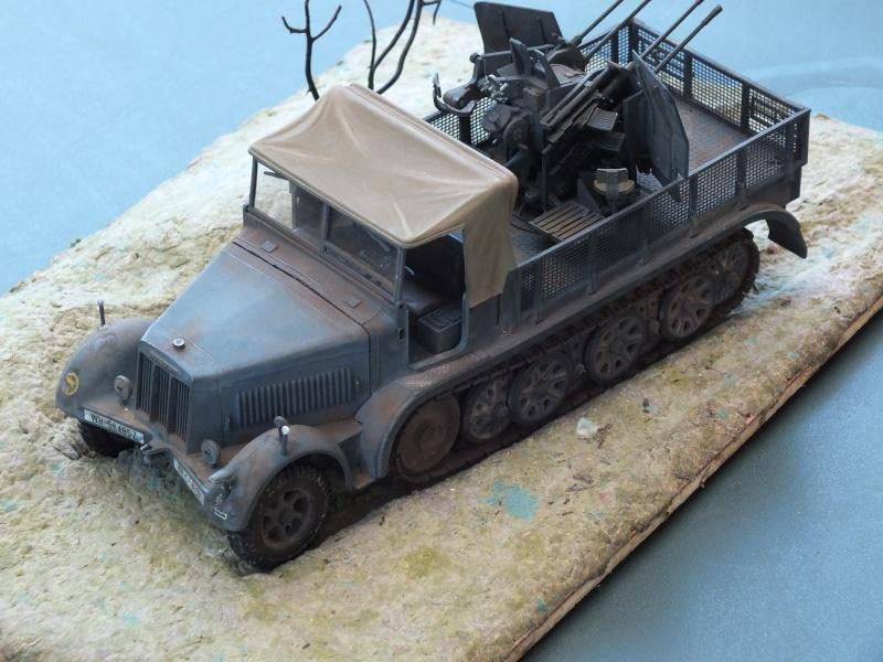 Sdkfz 7/1 tamiya 1/35 FINI Dscf5210