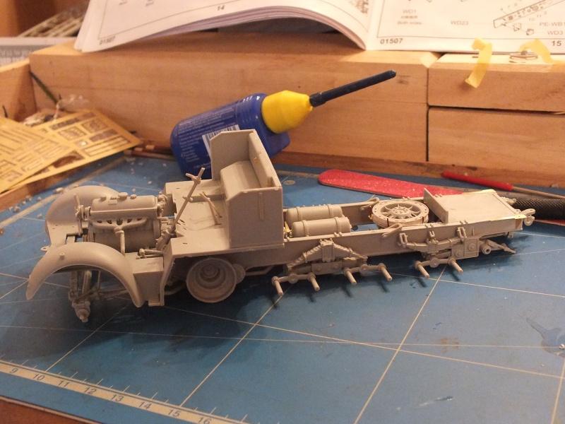 Trumpeter 1/35 Sd.Kfz.7 Mittlere Zugkraftwagen 8t Late  Dscf5410