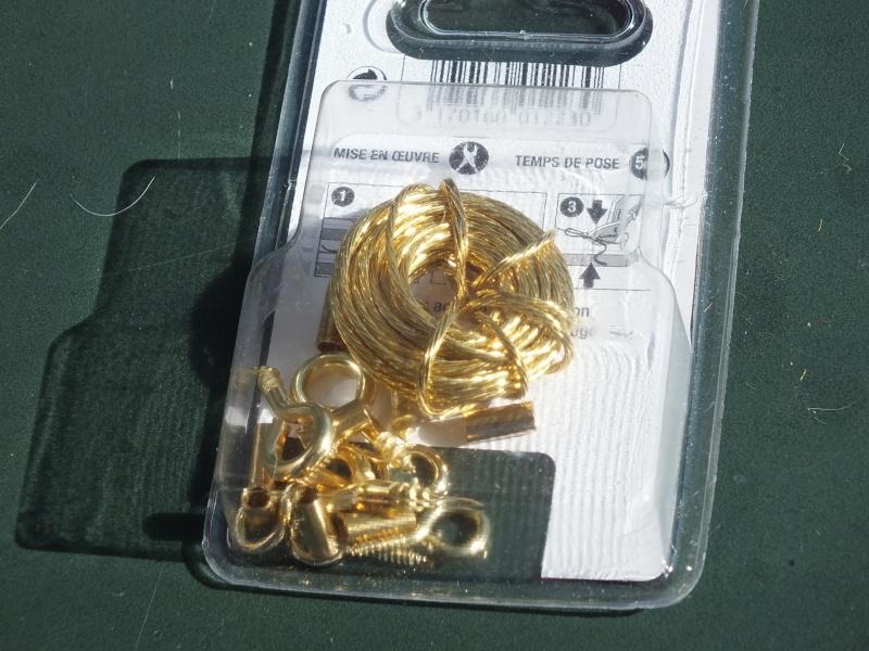 Remplacer les câbles de remorquage en plastique: tresse de laiton Dscf5824