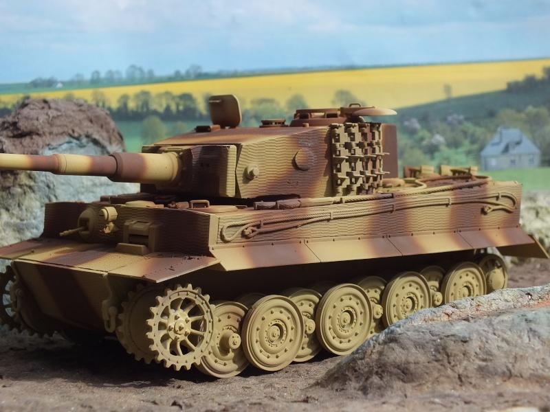 Tiger I Late version ,tamiya 1/35 (début de patine) Dscf5843