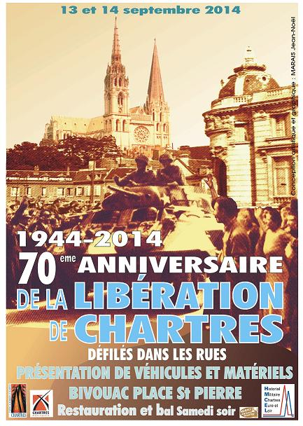 70ème  anniversaire de la Libération de Chartres. Libera10