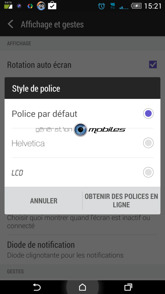 [TUTO] Comment changer la police facilement sur le HTC one M8 Screen10