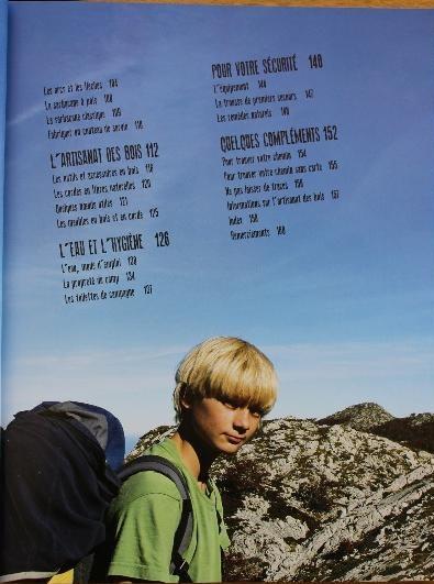"""[Manuel] (Survie) """"L'appel de la Nature ,manuel de survie pour jeunes aventuriers."""" S210"""