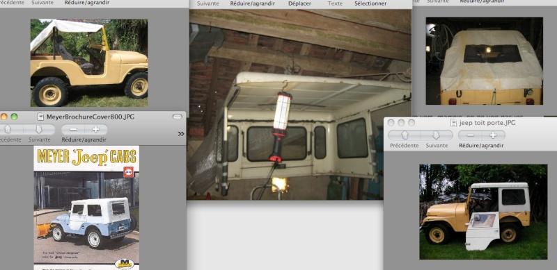 Restauration CJ5 avec Hard top et portes métal Report11