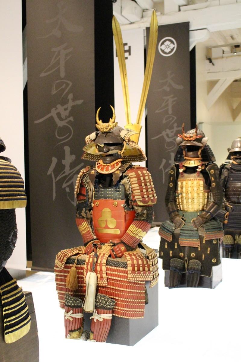 Exposition : Samouraï, 1000 ans d'histoire du Japon Img_3513