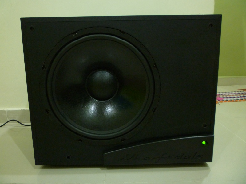 Wharfedale Topaz SW-15 300w Powered Subwoofer 15inch Driver (sold)