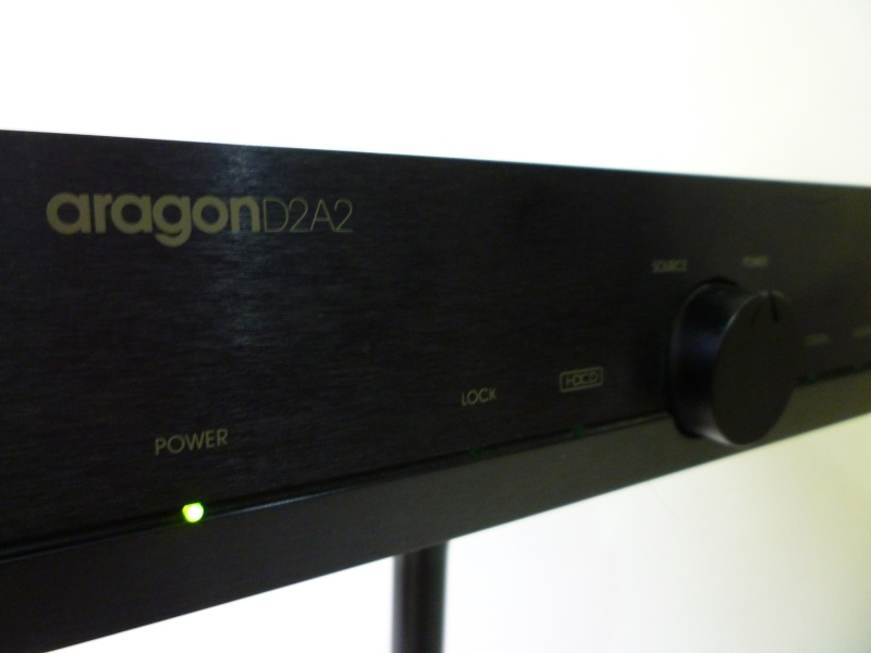 Aragon D2A2 digital-to-analogue converter HDCD (Used) P1130017