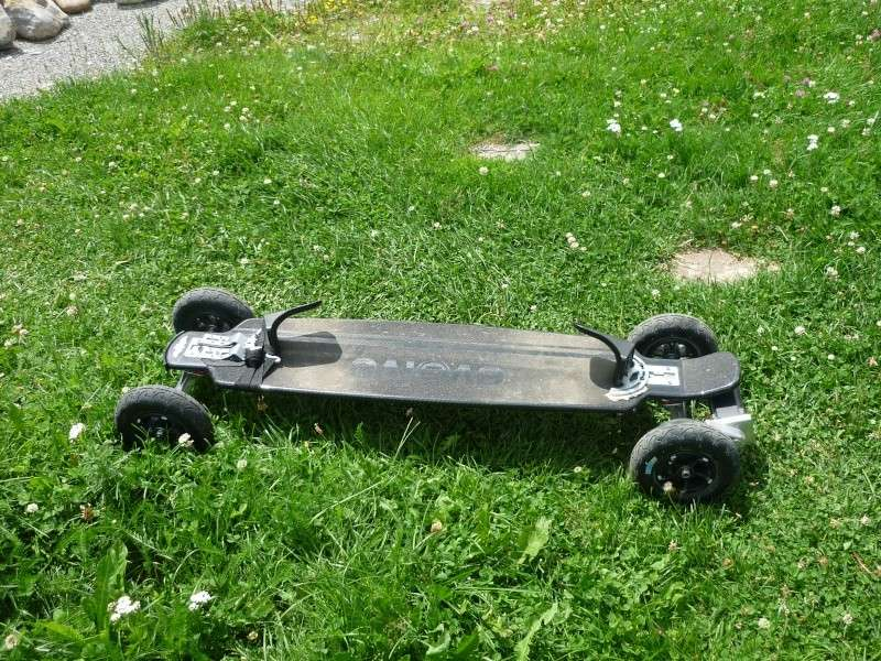 Fix de freebord sur Evolve carbone P1100514