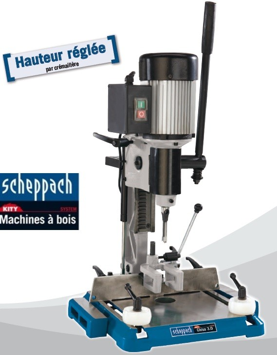 Aide au choix sur une mortaiseuse à bédanes  Schepp10