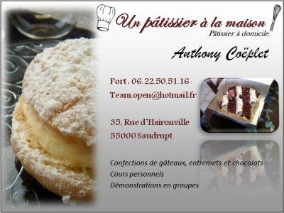 montage carte de visite cake design 27047810