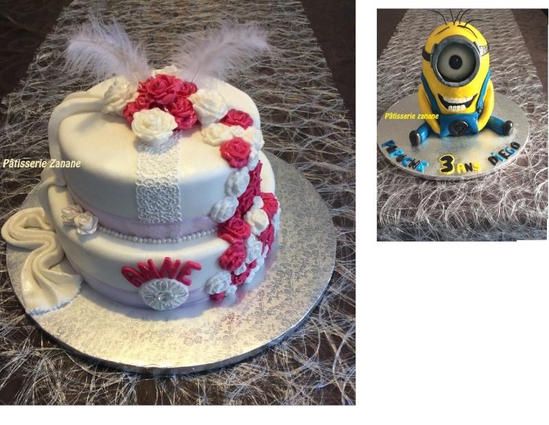 montage carte de visite cake design M10