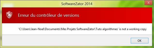 Bug conditions et contrôleur de version 2014-113