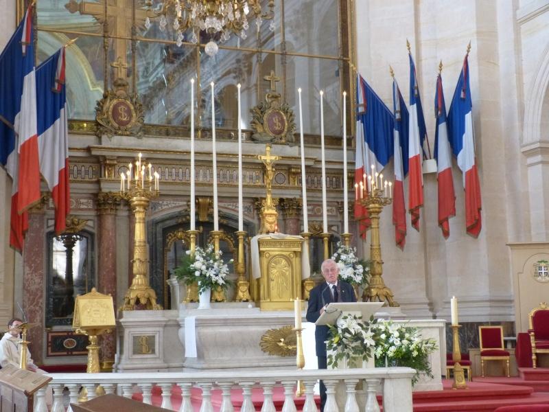 13 septembre 2014 Cérémonie Normandie Niemen aux Invalides et à l'Arc de Triomphe 1_homm12