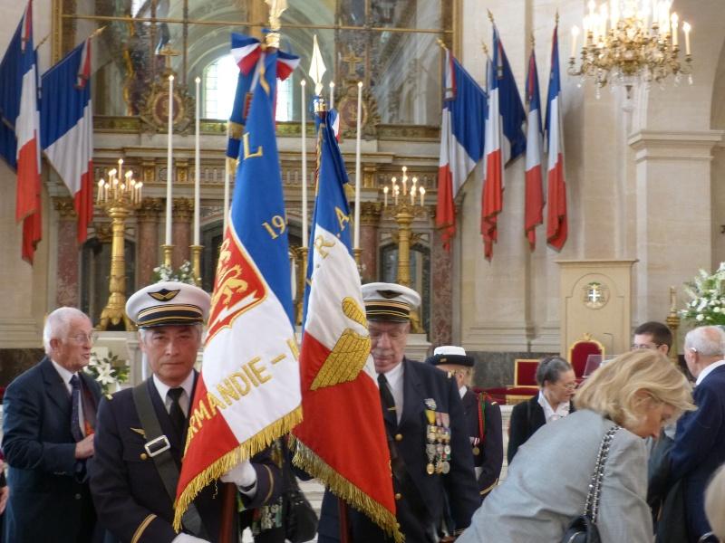 13 septembre 2014 Cérémonie Normandie Niemen aux Invalides et à l'Arc de Triomphe 2_jean11