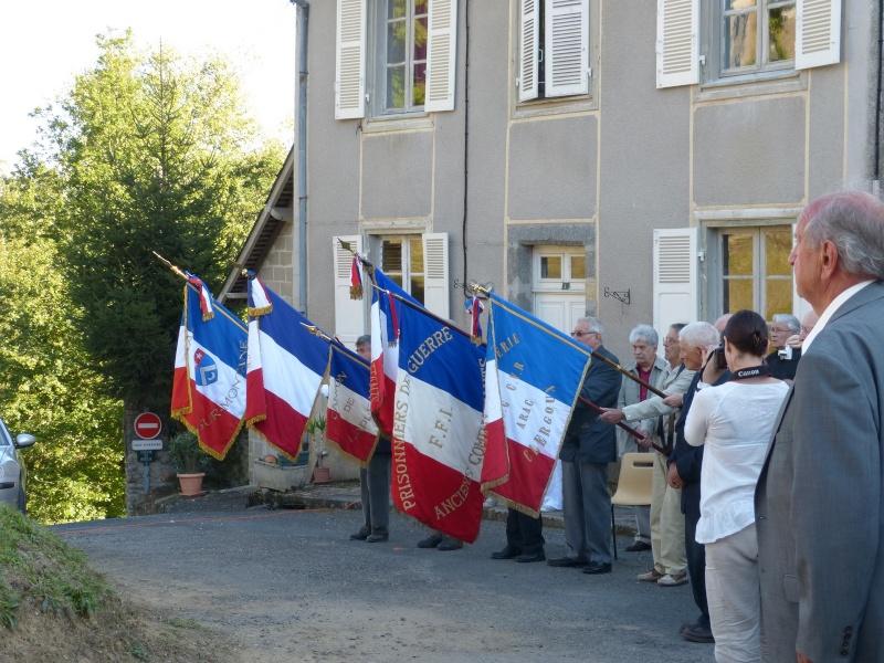 Inauguration stèle Pierre Pouyade à Ségur le Château et conférence Normandie Niemen vendredi 26 septembre à Tulle 3_drap10