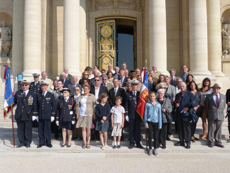13 septembre 2014 Cérémonie Normandie Niemen aux Invalides et à l'Arc de Triomphe 3_fami11