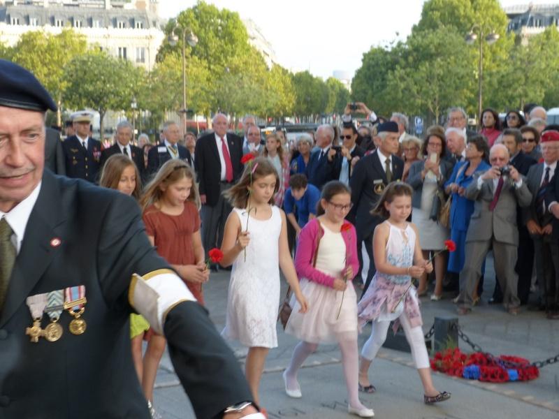 13 septembre 2014 Cérémonie Normandie Niemen aux Invalides et à l'Arc de Triomphe 4_dcpo10