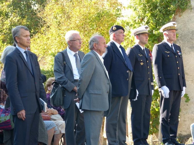 Inauguration stèle Pierre Pouyade à Ségur le Château et conférence Normandie Niemen vendredi 26 septembre à Tulle 4_de_g10