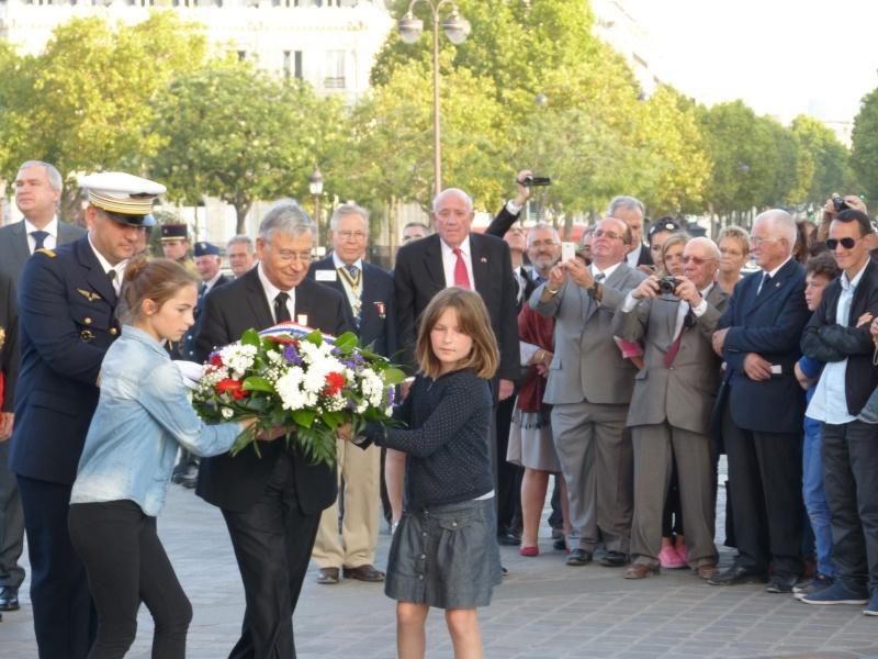 13 septembre 2014 Cérémonie Normandie Niemen aux Invalides et à l'Arc de Triomphe 5_dcpo11