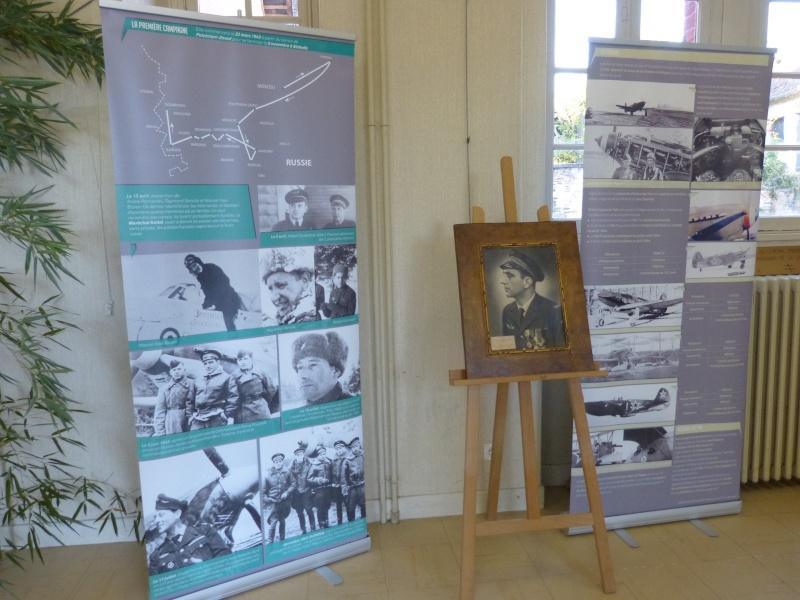 Inauguration stèle Pierre Pouyade à Ségur le Château et conférence Normandie Niemen vendredi 26 septembre à Tulle 6_expo11
