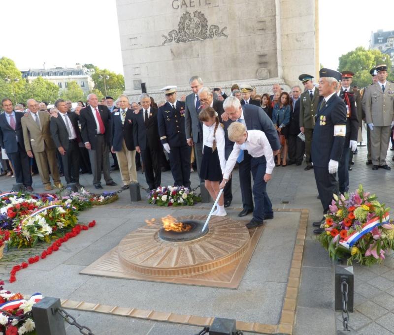 13 septembre 2014 Cérémonie Normandie Niemen aux Invalides et à l'Arc de Triomphe 7_ravi10