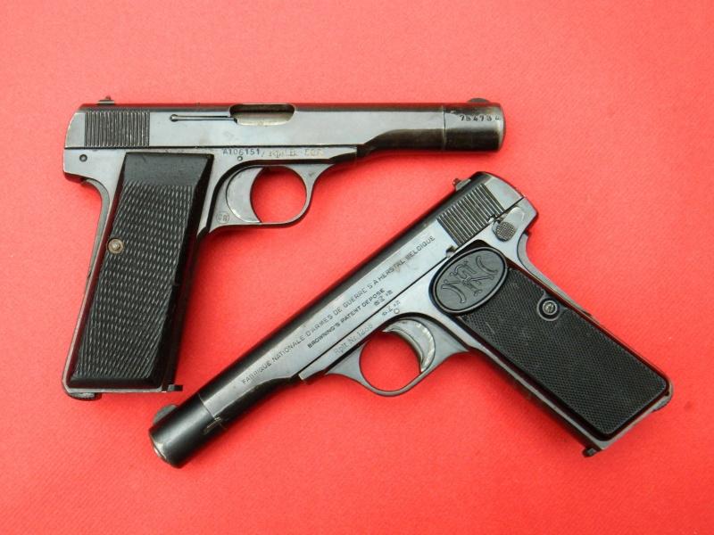 FN 1910 et 10/22 Danois Pistol10