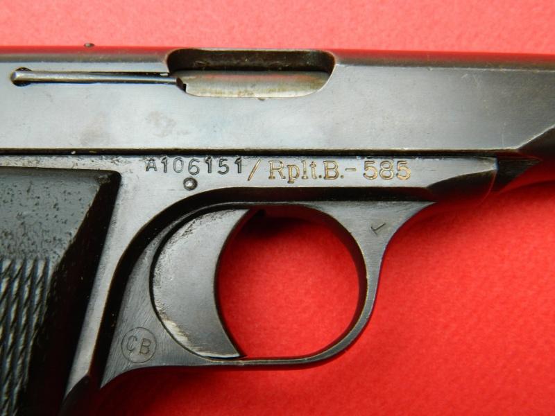 FN 1910 et 10/22 Danois Pistol11