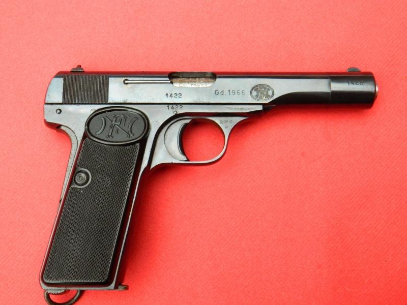 FN 1910 et 10/22 Danois Pistol18