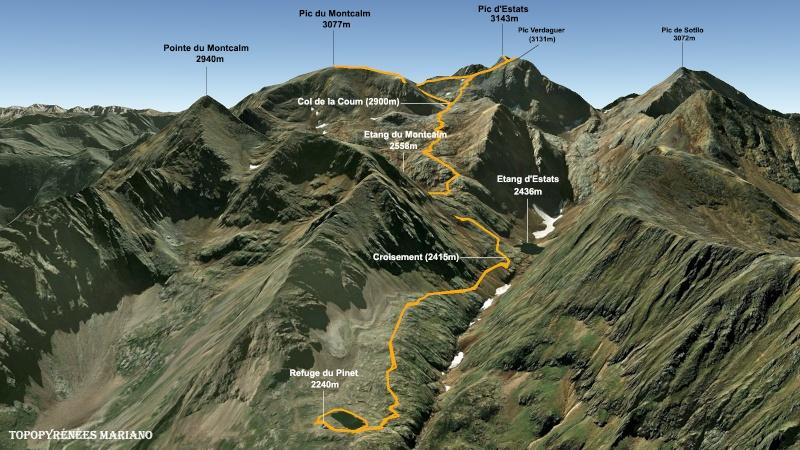 Le marathon du Montcalm - 16-08-2014 Carte-11
