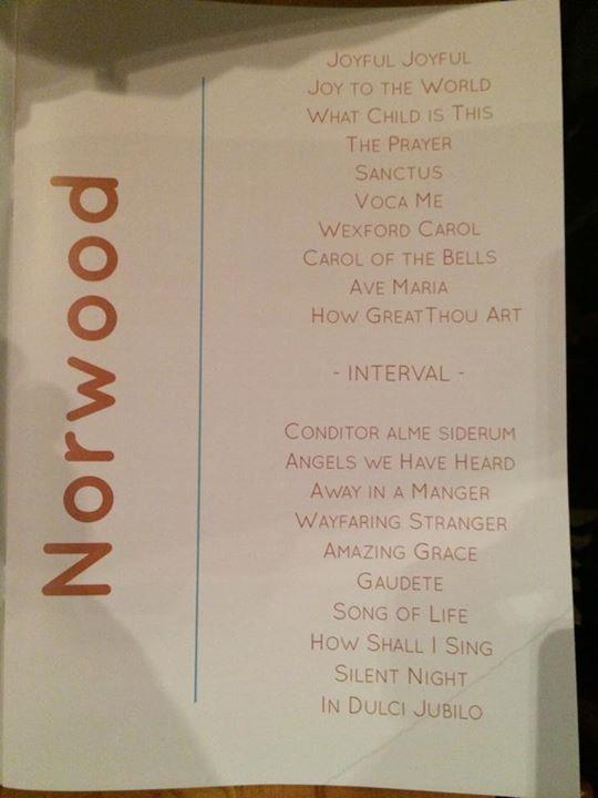 Concert à St John's Church, Upper Norwood (20 décembre 2014) - Page 2 10424310