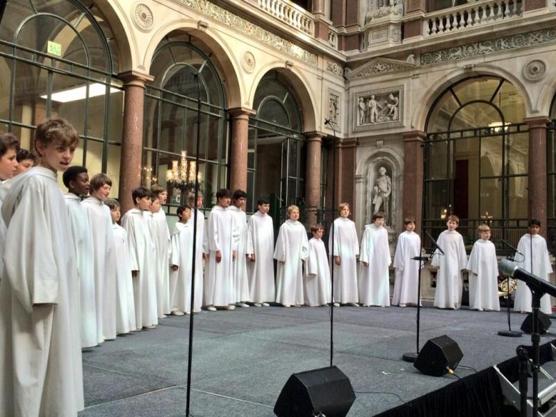 Performance à Londres pour le Kennedy Center 111