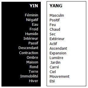 LE TAO, LE Yin et le Yang 20253810