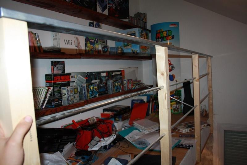 construction de ma mezzanine pour ranger livres et mags Img_9029