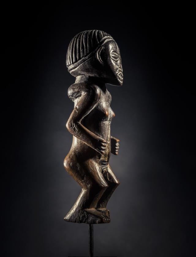 Chokwe people, Female Statue, Shinji Figure, Uruunda Region (Lower Congo/Angola) Chokwe10