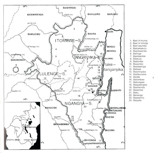 Basikasingo, (pre-Bembe/Buyo) people, Milindi ya Batee/ Banya, (Statuette des sorciers/guérrisseurs), Région de Lulenge, Lac Tanganyika, Congo Courte10