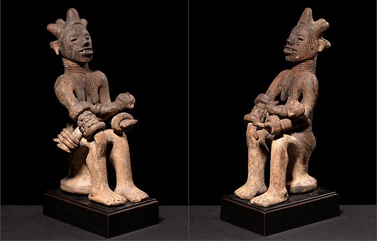 Igbo people, Ntekpe figure, Northeast Cross River, Nigeria Igbo_n11