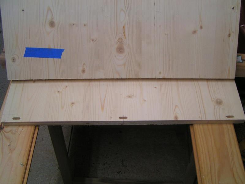 Fabrication d'une cuisine en frêne olivier - Page 4 Caisso10