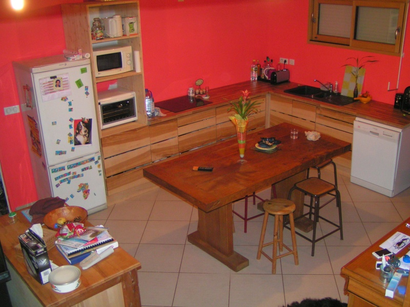 Fabrication d'une cuisine en frêne olivier - Page 6 Pict1744