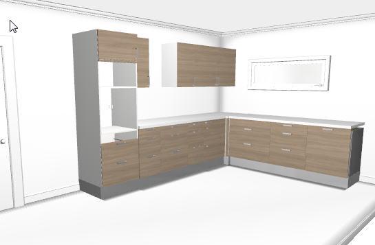 Fabrication d'une cuisine en frêne olivier Snag-011